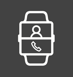 Calling contact vector