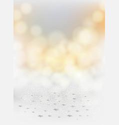 festive blurred grey background scattering vector image
