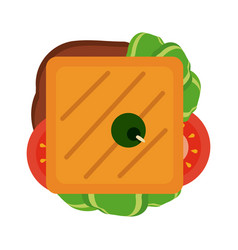 food icon image vector image