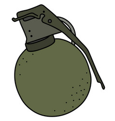 The old offensive hand grenade vector