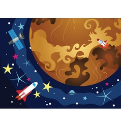 Venus in the Space3 vector