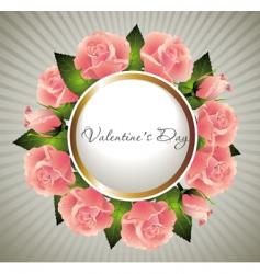 valentines illustration vector image