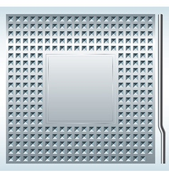 CPU slot vector image
