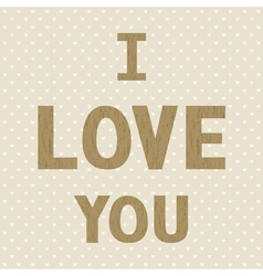 Romantic card56 vector image