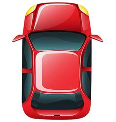 A topview of a car vector