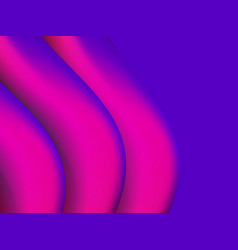 abstract background with violet gradient waves vector image