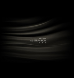 abstract black background luxury cloth black vector image