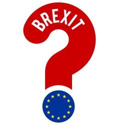 Brexit concept vector