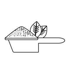 empty gardening pot vector image