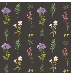 Floral Background - Seamless pattern vector