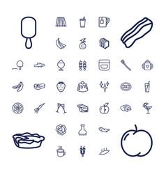 Fresh icons vector