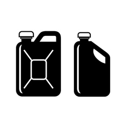 gas can vector image