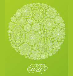 happy easter background good design template for vector image