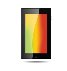 Tablet color vector image