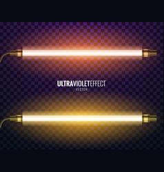ultraviolet light vector image vector image