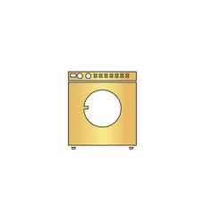 Wash computer symbol vector image vector image
