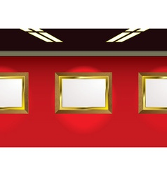 picture gallery vector image