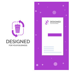 Business logo for waste disposal garbage vector