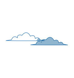 Cloud climate sky day weather icon vector