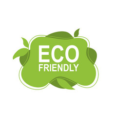 eco friendly environment design concept vector image