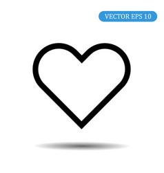 heart icon love symbol valentines day ba vector image