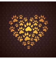 Heart of The Dog Traces vector