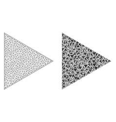 Polygonal carcass mesh play function and mosaic vector