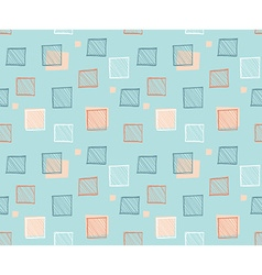 Seamless abstract geometric colorful pattern vector