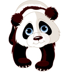 Walking Panda vector image