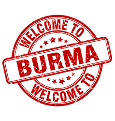 Welcome to burma vector