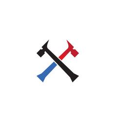 repair logo vector image