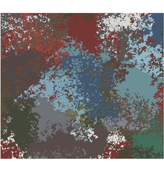 abstract grunge painted texture vector image vector image
