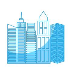 City building design vector
