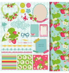 Design Elements - Strawberry vector image