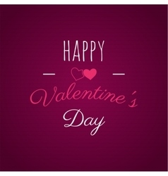 Happy Valentines day lettering photo vector