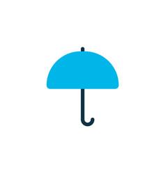 parasol icon colored symbol premium quality vector image