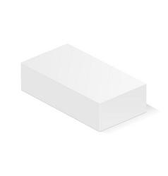 Rectangular small box vector