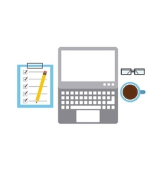 software programming concept icon vector image