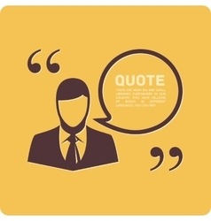 People with quote vector