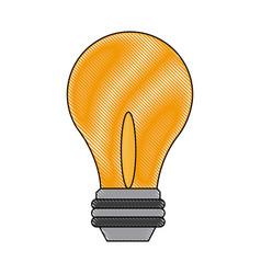 Light bulb - business idea innovation icon vector