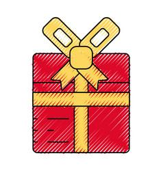 Gift box symbol vector