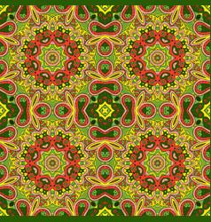 Mandala eastern pattern zentangl seamless vector