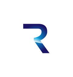 R letter logo vector