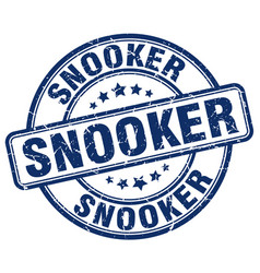 Snooker blue grunge round vintage rubber stamp vector