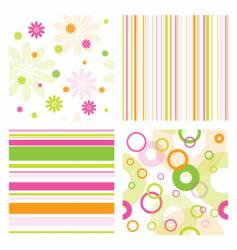 pattern samples vector image vector image
