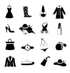 fashion icon vector image