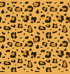 african cheetah leopard fur seamless vector image