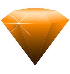 gemstone vector image