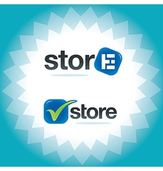 Internet Store Symbols vector image