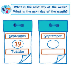Logical task what is the next day of the week vector